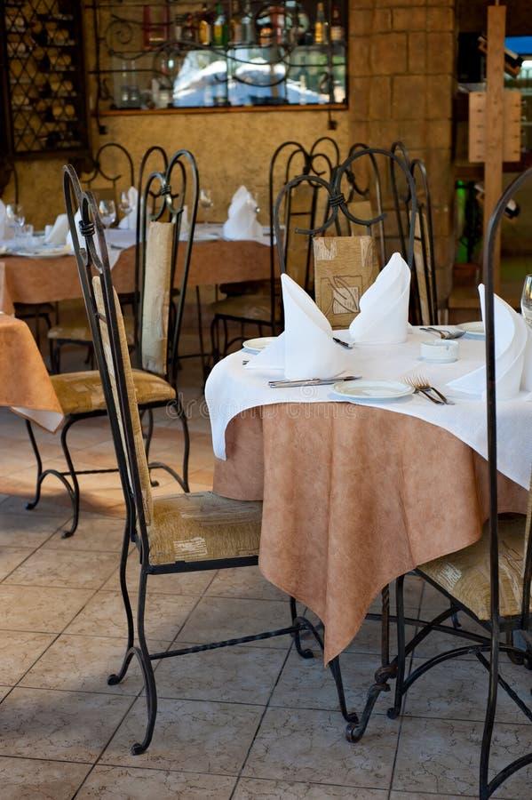 restaurant intérieur image libre de droits