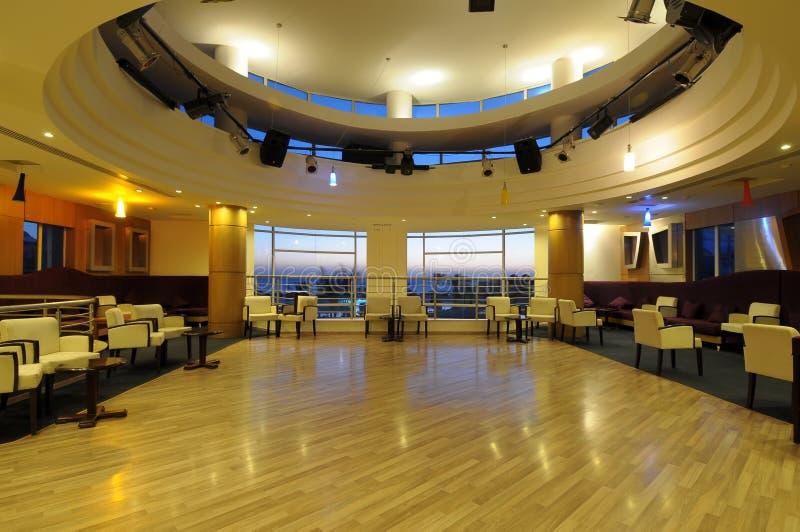 Restaurant interiors royalty free stock photography