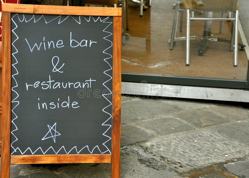 Restaurant italien photo libre de droits