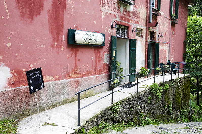 Restaurant italien image libre de droits