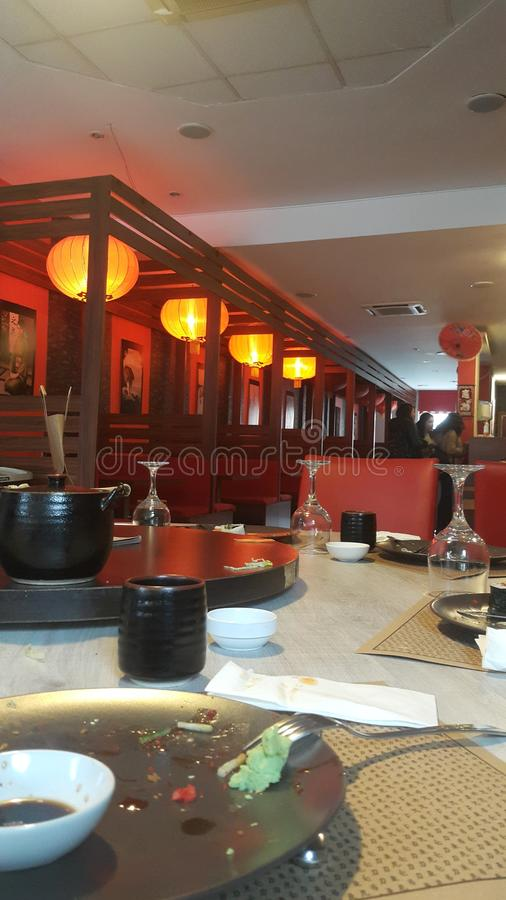 Restaurant Japon photos stock
