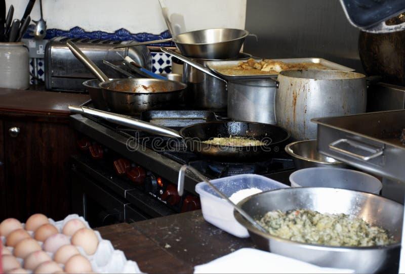 Restaurant kitcken stock photos
