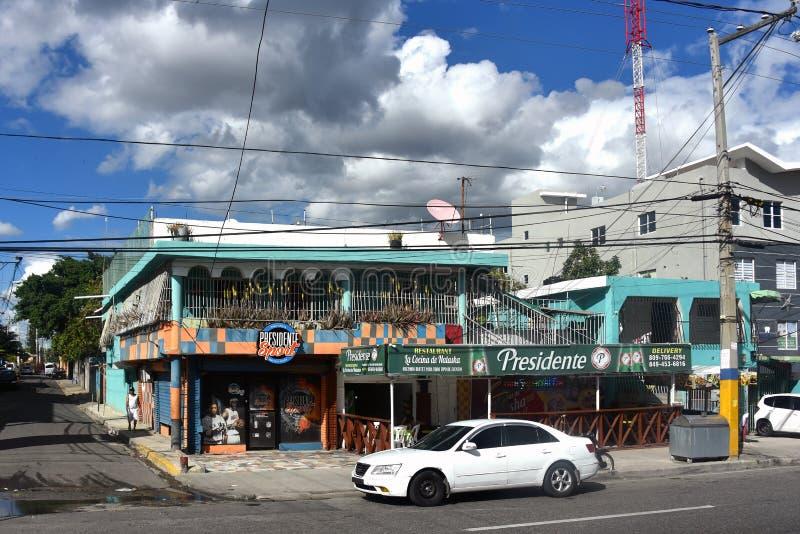 Restaurant La Cocina de Natasha en Santo Domingo photo libre de droits