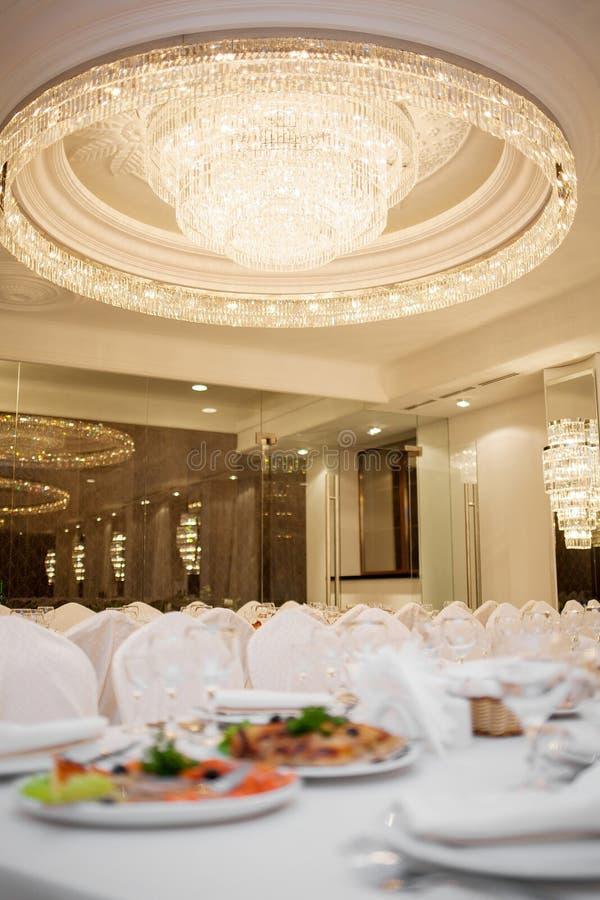 Restaurant luxueux image libre de droits