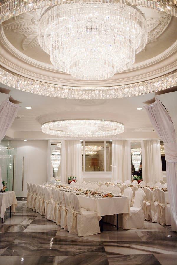 Restaurant luxueux photos stock