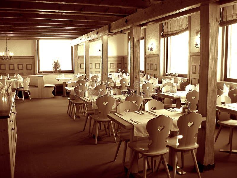 restaurant luxueux intérieur images stock