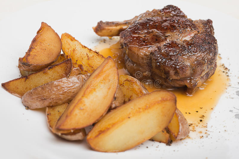 Download Restaurant menu stock photo. Image of garnish, parsley - 28385090