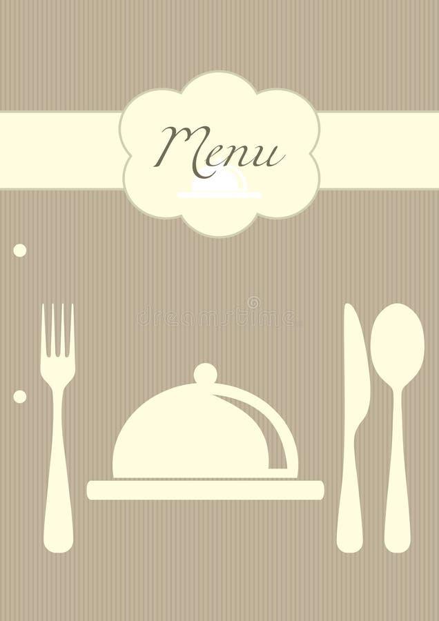 Download Restaurant menu background stock vector. Image of bistro - 17442668