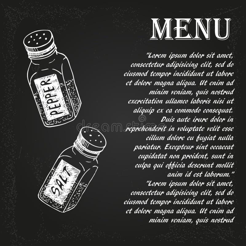 Restaurant menu 1 vector illustration