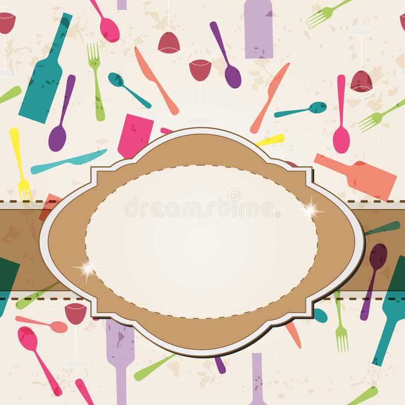 Download Restaurant Menu Concept Design Stock Vector - Illustration: 25658155