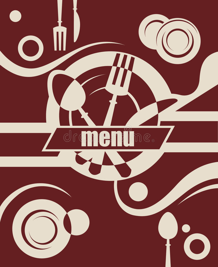 Download Restaurant menu design stock vector. Image of flavor - 20254503