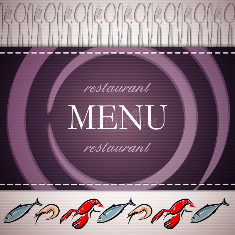 Download Restaurant menu design stock illustration. Image of pattern - 24106239