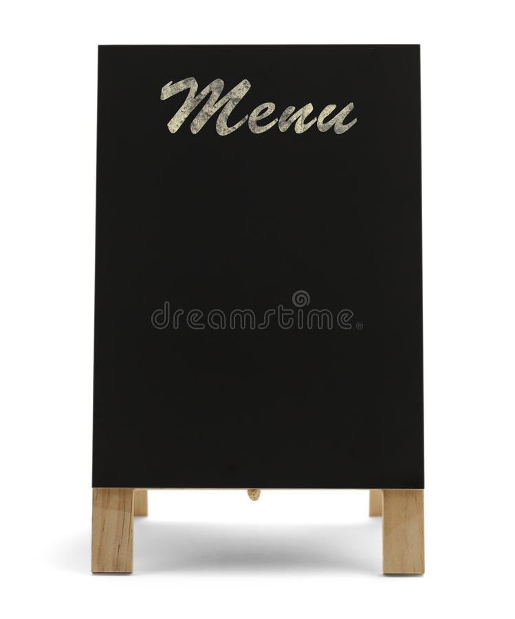 Restaurant Menu Sign stock images