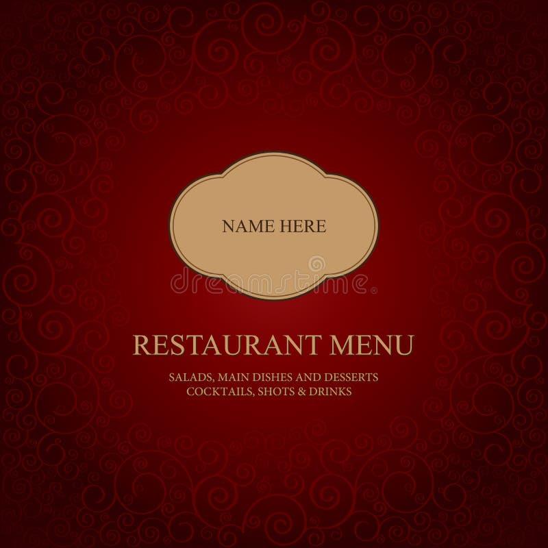Download Restaurant Menu Tempale Design Stock Vector - Illustration of lunch, element: 20546067