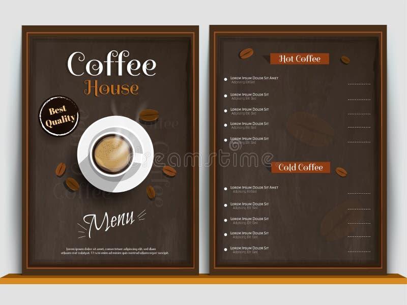 Restaurant menu, template design. Food flyer. Restaurant cafe menu, template design. Food flyer stock illustration