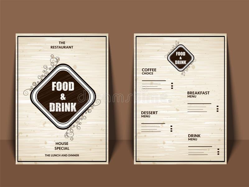 Restaurant menu, template design. Food flyer. Restaurant cafe menu, template design. Food flyer vector illustration