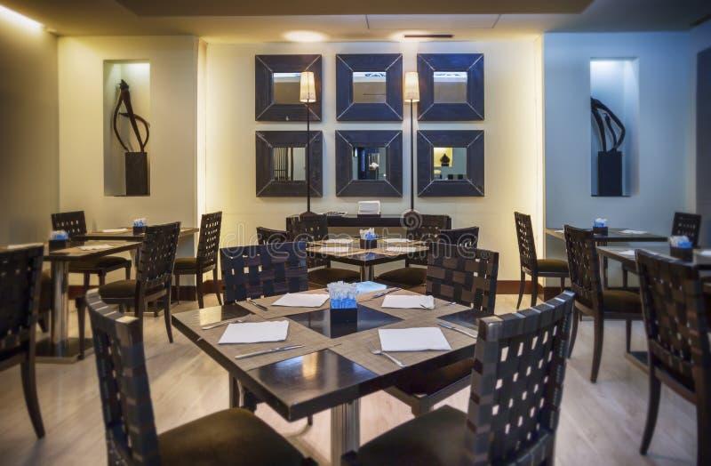 Restaurant moderne image libre de droits