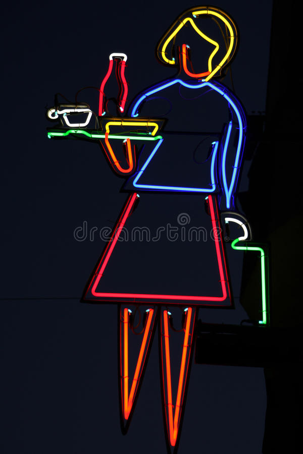 Download Restaurant Neon Royalty Free Stock Image - Image: 31221006