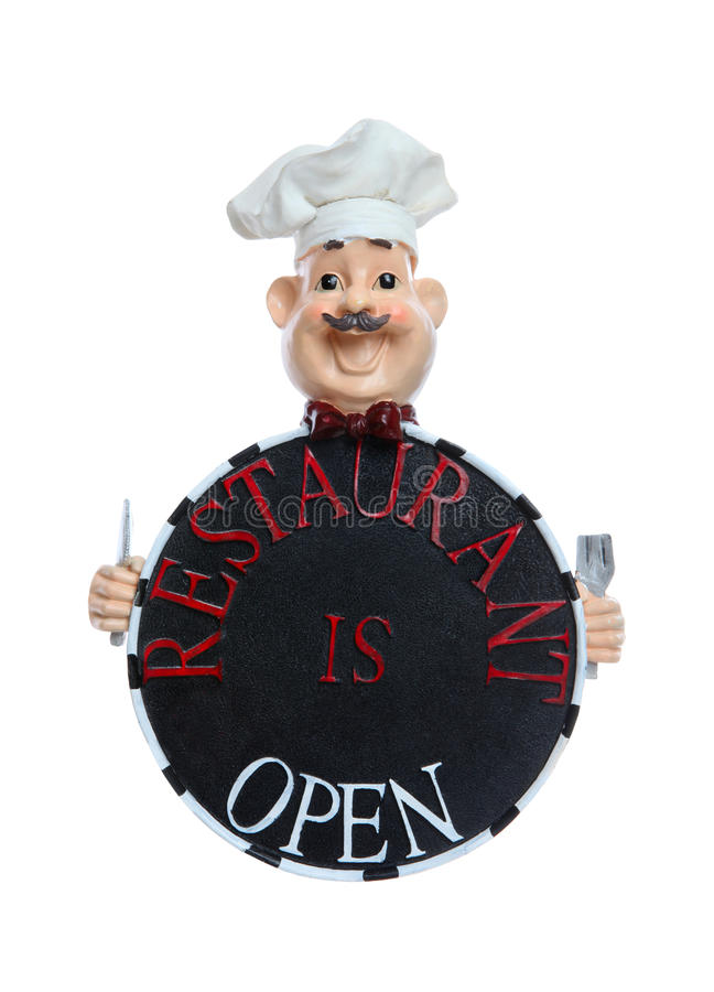 Restaurant Is Open Sign Stock Photos