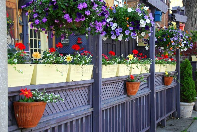 Restaurant patio fence  Restaurant patio stock image. Image of restaurant, dine - 898207