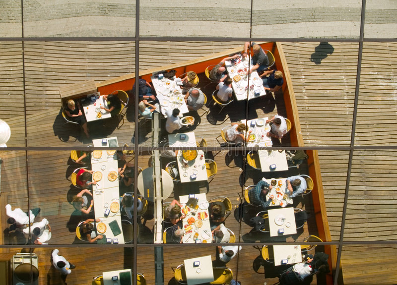 Download Restaurant Reflection Stock Images - Image: 2323584