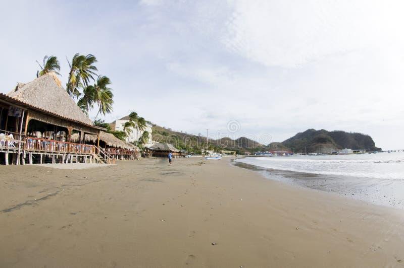 Restaurant San Juan del sur Nicaragua image libre de droits