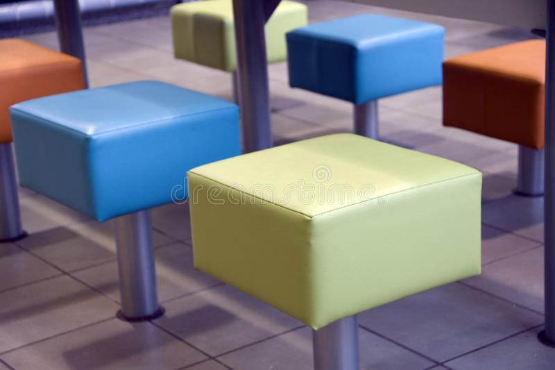 Restaurant Seats Royalty Free Stock Images