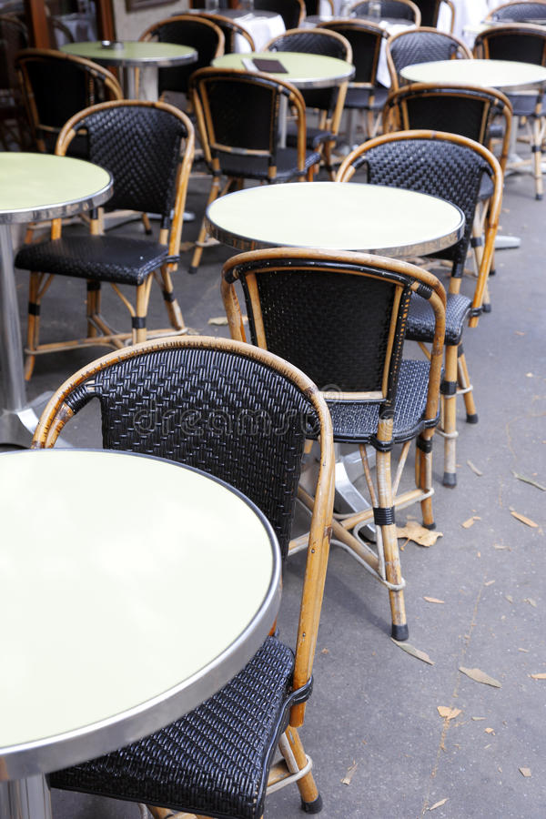 Download Restaurant on the sidewalk stock image. Image of wicker - 28091643