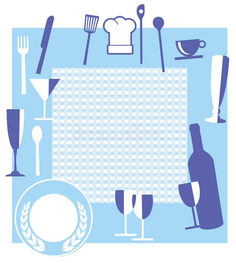 Download Restaurant sign stock vector. Image of cloth, isolated - 22864369