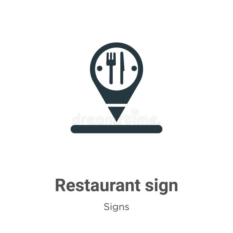 Restaurant Signs Stock Vector. Illustration Of Coffee