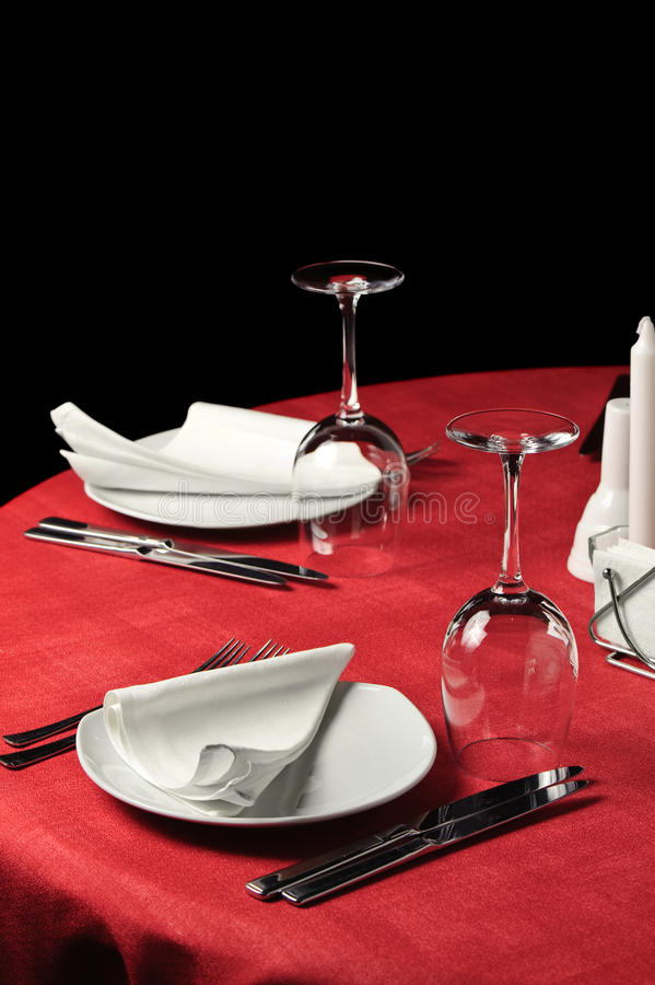 Download Restaurant table stock photo. Image of dinning, knife - 10445746