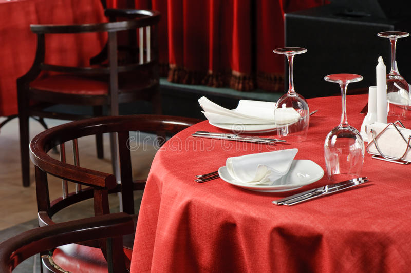 Download Restaurant table stock photo. Image of quality, fine - 10505620
