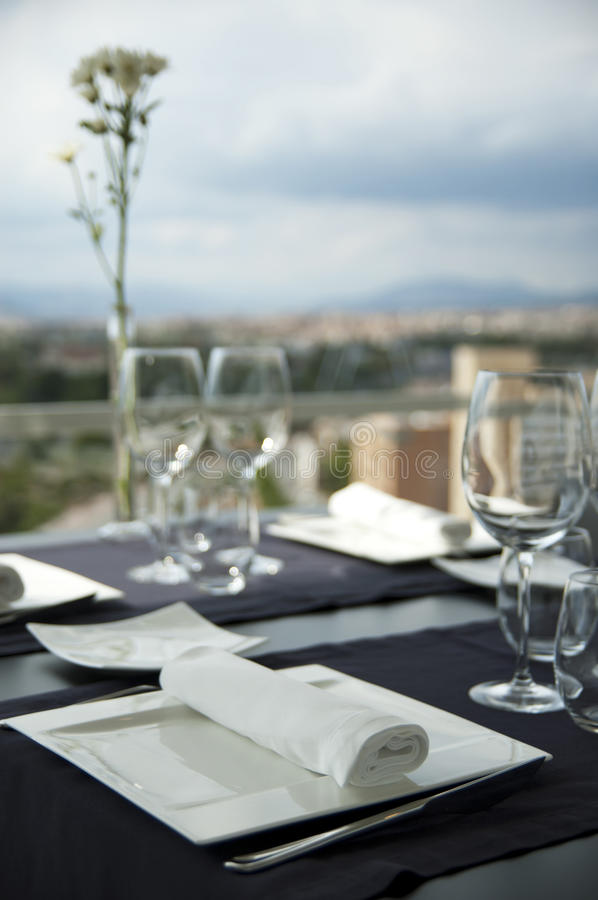 Download Restaurant table stock image. Image of setting, dishware - 16130011