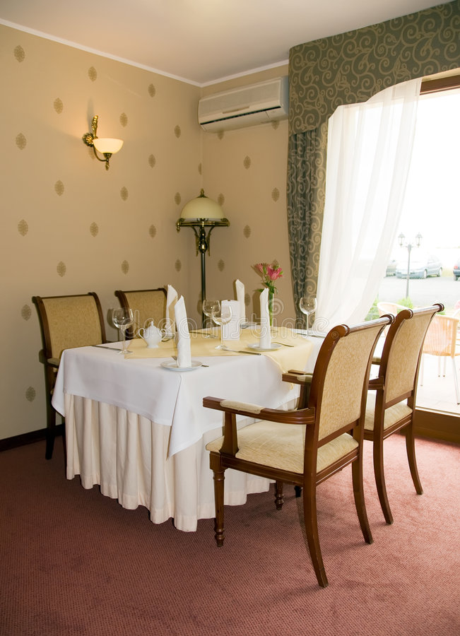 Download Restaurant Table Royalty Free Stock Photography - Image: 6018817