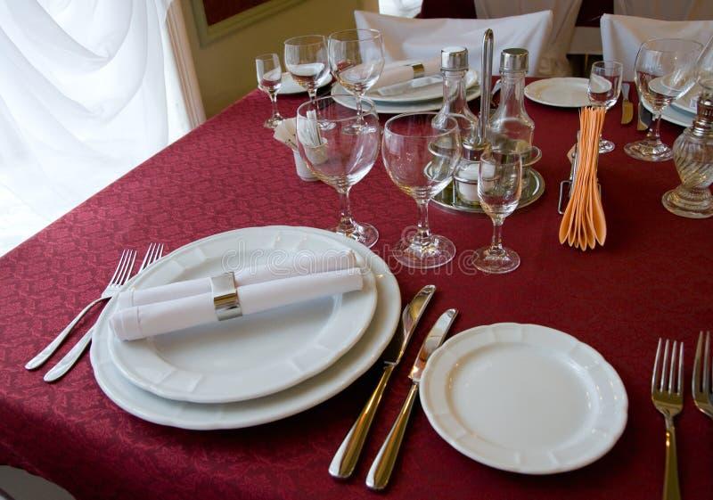 Download Restaurant Table Arrangement Stock Photo - Image: 7849458