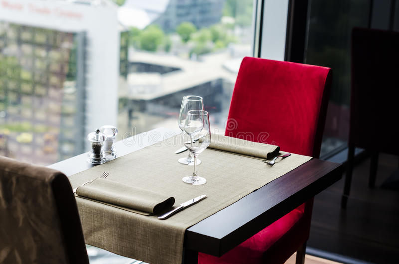Download Restaurant Table Stock Photo - Image: 40617264