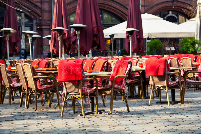 Download Restaurant Terrace stock image. Image of lunch, serve - 24510309