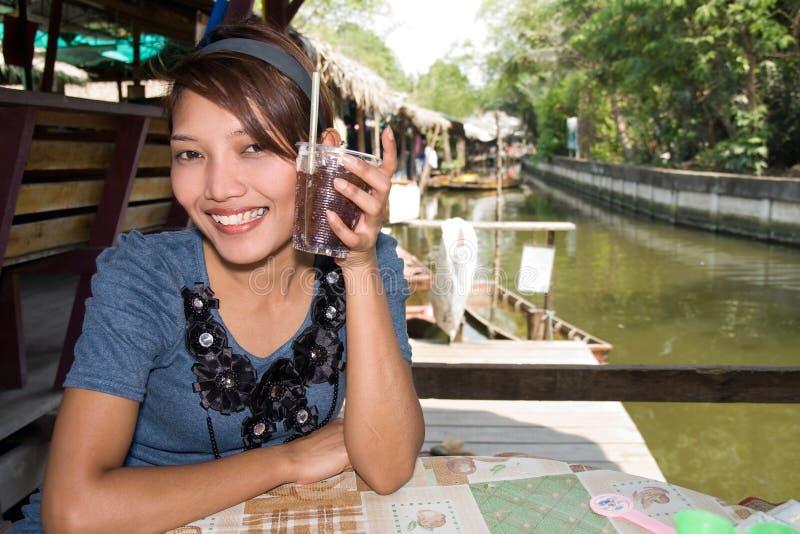 Restaurant thaï photo libre de droits
