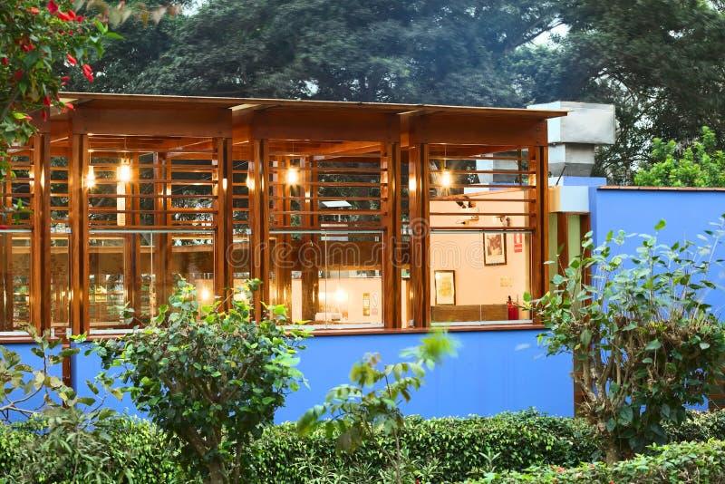 Restaurant Tio Mario dans Barranco, Lima, Pérou photographie stock libre de droits