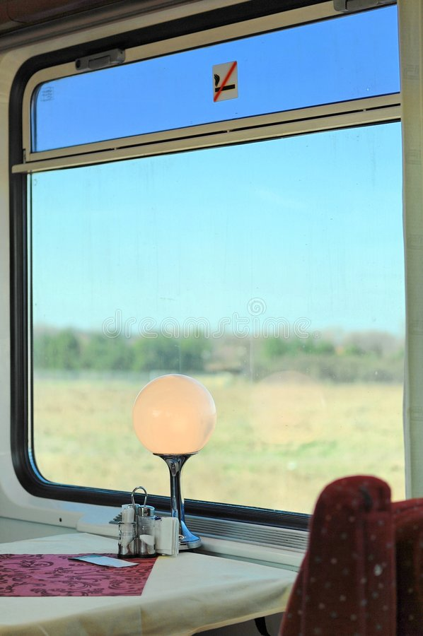 Download Restaurant Train Window Royalty Free Stock Images - Image: 2163589