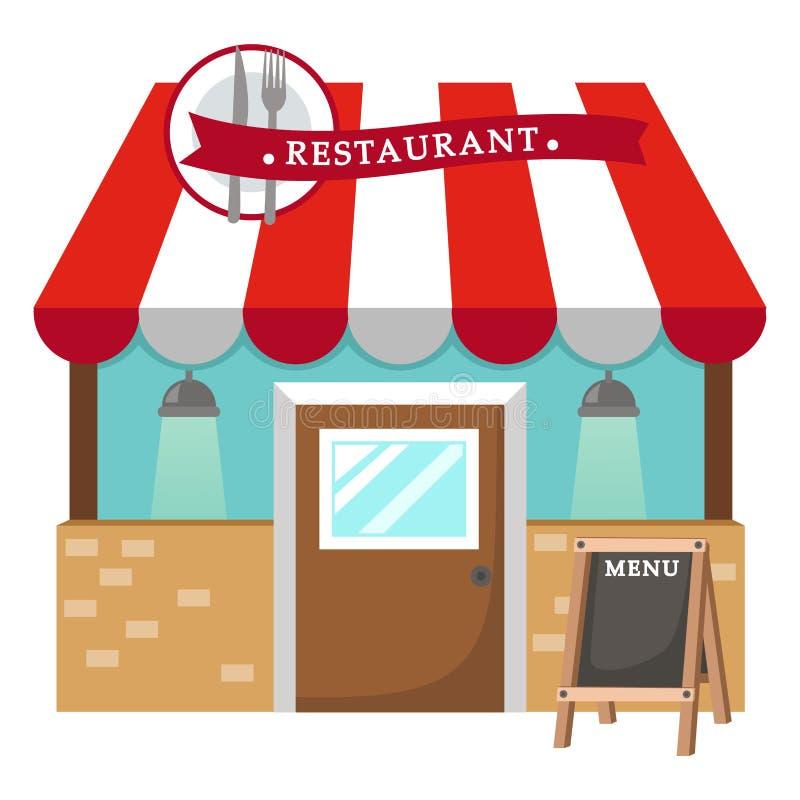 Restaurant vector stock illustration