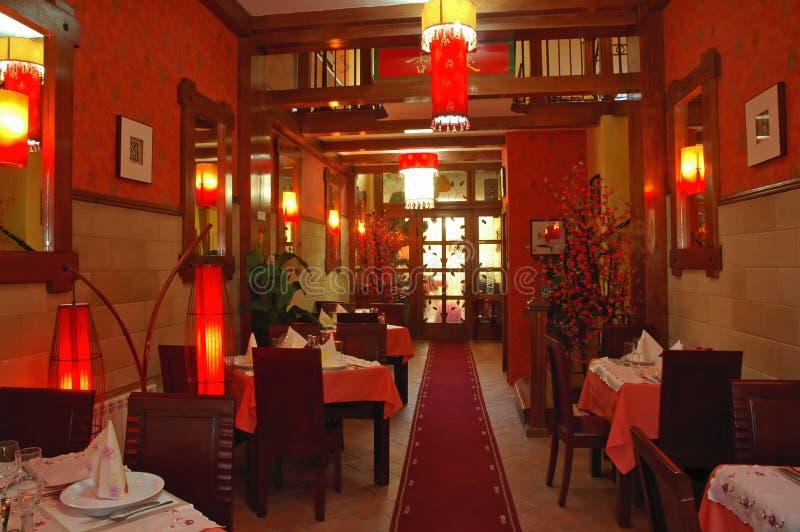 Restaurant01 chinois photographie stock