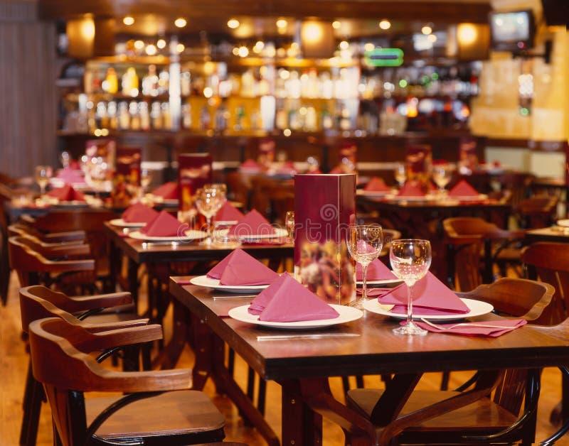 Restaurante imagens de stock royalty free