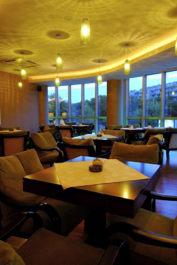 Restaurante 17 de Caffe imagen de archivo
