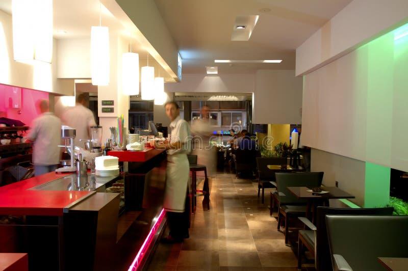 Restaurante 2 de Caffe fotografía de archivo libre de regalías