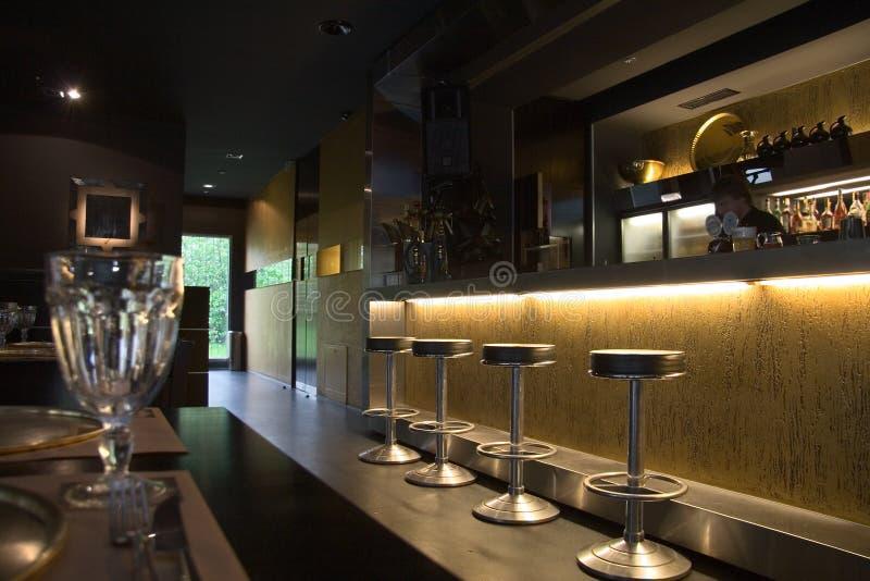 Restaurante foto de stock