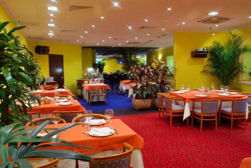Restaurante 29 de Caffe foto de archivo