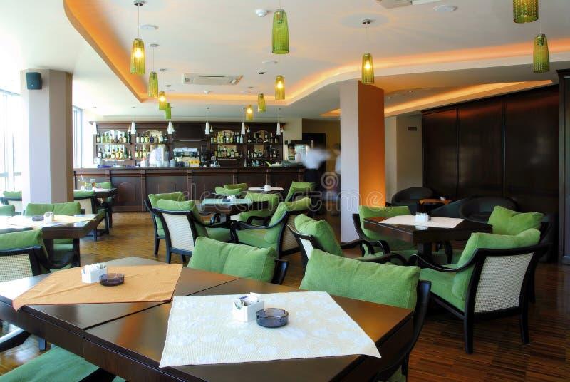 Restaurante 3 de Caffe imagen de archivo libre de regalías