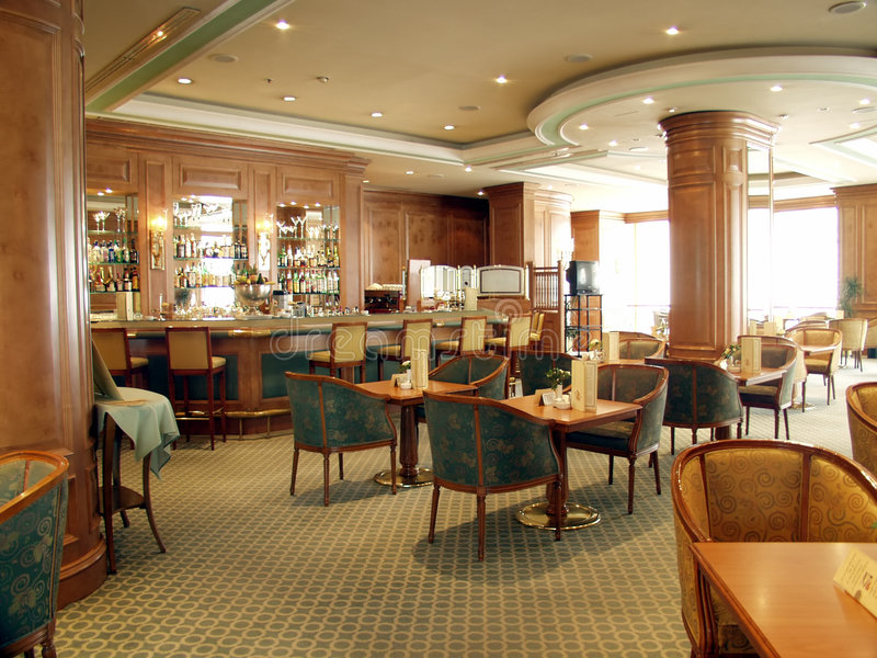 Restaurante/barra imagens de stock royalty free