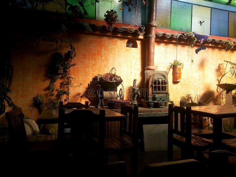 Restaurante Cajica - Colômbia fotografia de stock royalty free